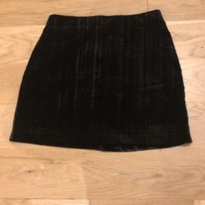 Black Abercrombie and Fitch Mini Skirt
